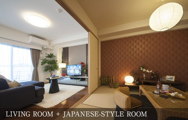 LIVING ROOM&JAPANESE-STYLE ROOM
