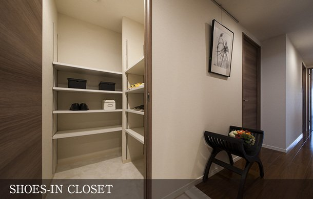 SHOES-IN CLOSET