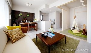 LIVING DINING ROOM<A-1タイプ>