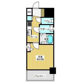 プレサンス大須観音 9階 1K