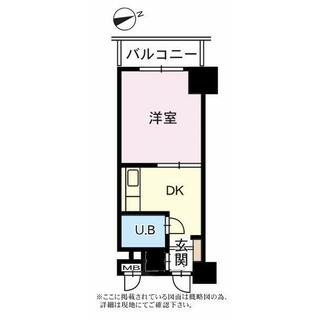 ユトリロ根上り松マンション 3階 1K