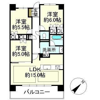 プレサンスレジェンド琵琶湖 5階 3LDK