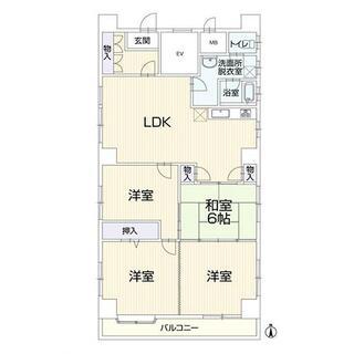 石町マンション 7階 4LDK