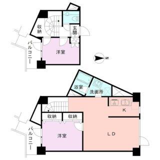 小針浜コンドミニアム 8階 2LDK