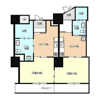 サン・ソフィア新潟 5F 5階 2DK