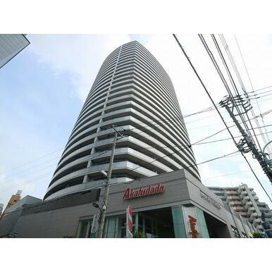 町屋駅前南地区市街地再開発事業物件、地上28階建のタワーレジデンス