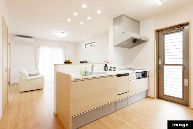【小松市】一針町分譲2号棟/2021.1月完成予定 キッチン