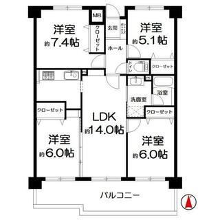 東峰マンション吉塚Ⅱ 8階 4LDK