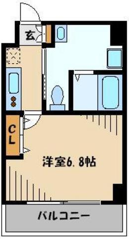 ☆1Kおしゃれパウダールーム☆