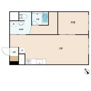 船橋ファミリーマンション 5階 ワンルーム