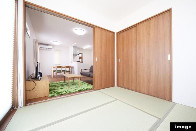 【氷見市】上泉分譲/6月完成予定 室内