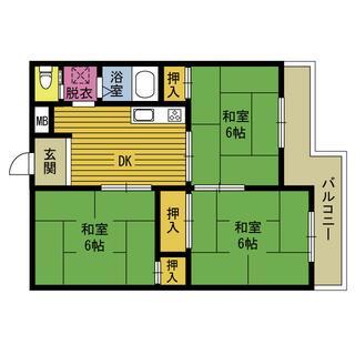 別府駅 22分 4階 3DK