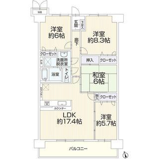 桑名市大字江場vigoaisho桑名 4階 4LDK