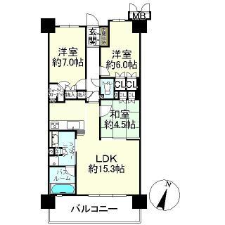 プレサンスレジェンド琵琶湖 13階 3LDK