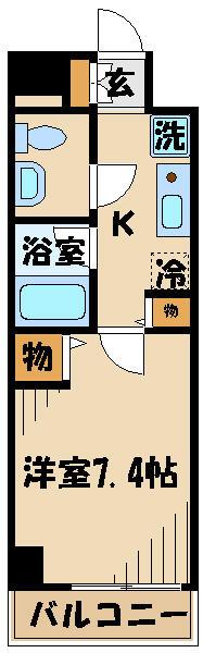 ★オートロック付きの駅至近の1Kマンションです★