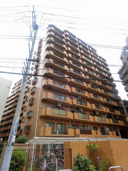 総戸数180戸の大規模マンション!事務所可!新耐震基準のマンションです。