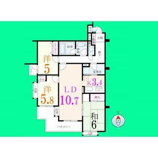 ライオンズマンション西新井本町 2階 3LDK