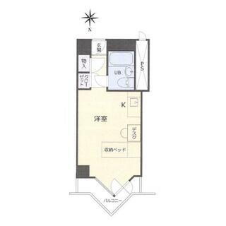 栄マンションN棟 11階 1K