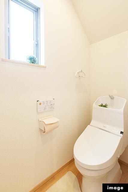 【小松市】一針町分譲2号棟/2021.1月完成予定 トイレ