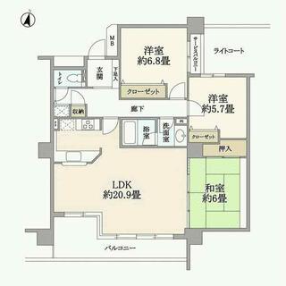 高坂ニュータウン四季の丘 3階 3LDK