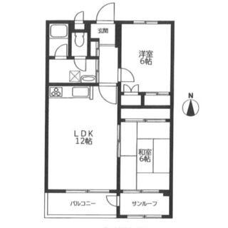 湘南大船マンション 4階 2LDK