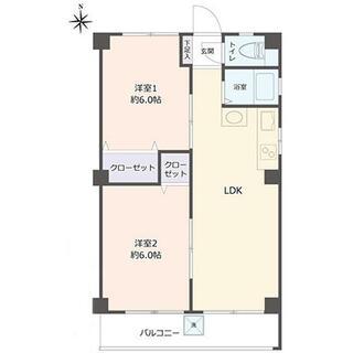 シャンホーム平安 4階 3K