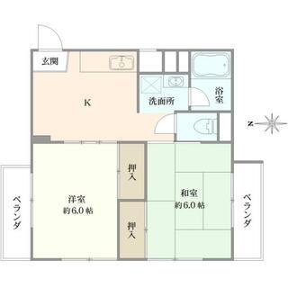 鵠沼ニューコーポ 3階 2K