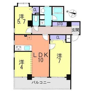 ストークマンション上尾浅間台 2階 3LDK