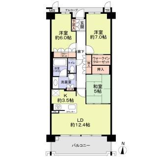 プレミスト相生山アクアテラス 1階 3LDK