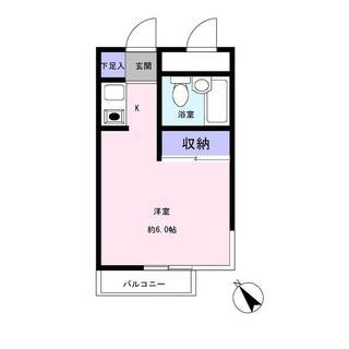ラヴニールⅠ成増 1階 ワンルーム