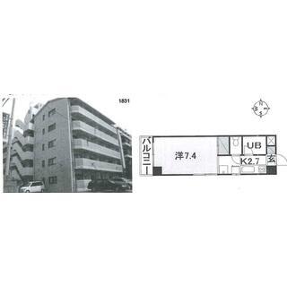 土居田駅 6分 4階 1K