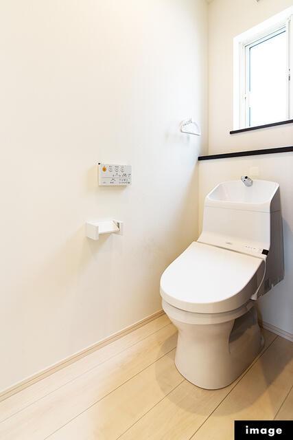 【黒部市】立野分譲2号棟/6月完成予定 トイレ
