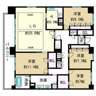 プレサンスレジェンド琵琶湖 1420号室 4SLDK