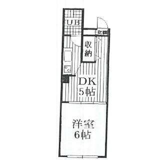 長岡天神駅 3分 5階 1DK
