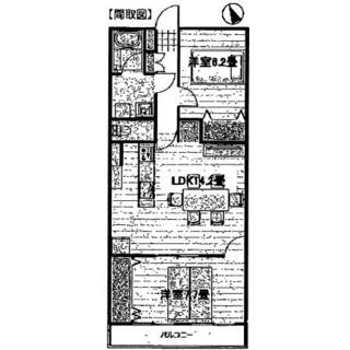 富士見ニューライフ 10階 2LDK