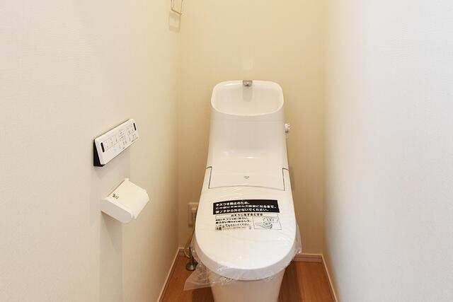 【能美市】浜町分譲2号棟 トイレ
