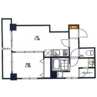 ライオンズマンション西横浜第2 3階 1DK