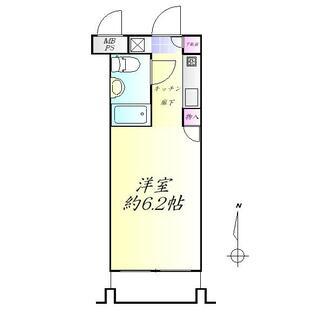 ヴァンハウス仙台東 2階 1K
