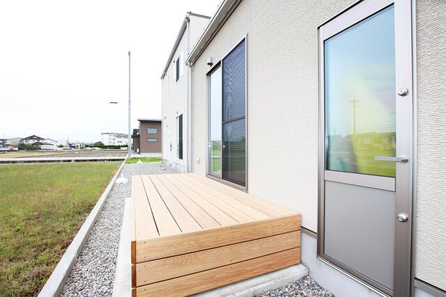フレンドリーハウス分譲住宅情報【富山でローコスト・新築分譲をお探しなら】庭
