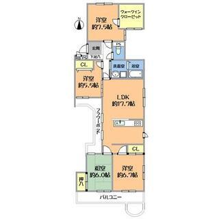 フラワーポットでお花のある暮らし 三旺マンション第二名東 2階 4LDK