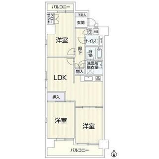一光大井ハイツ高蔵西館 5階 3LDK