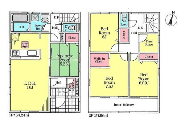 アットホーム】船橋市 西習志野2丁目 (北習志野駅 ) 2階建 4LDK ...
