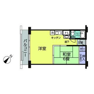 中銀ライフケア伊豆山12号館 10階 1LDK