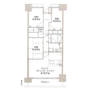 グラン・コート中村公園 7階 3LDK