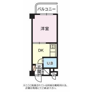 ユトリロ根上り松マンション 4階 1DK