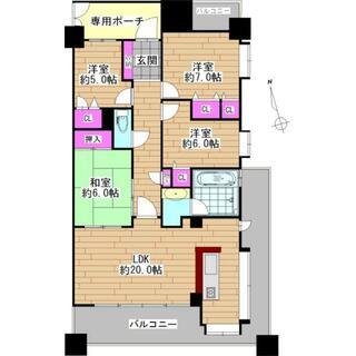ライオンズマンション四日市城東 7階 4LDK