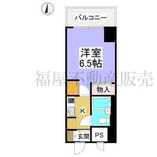 デトム・ワン烏丸二条 4階 1K