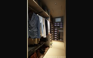 WALK-THROUGH CLOSET
