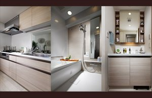 Kitchen/Bathroom/Powder room