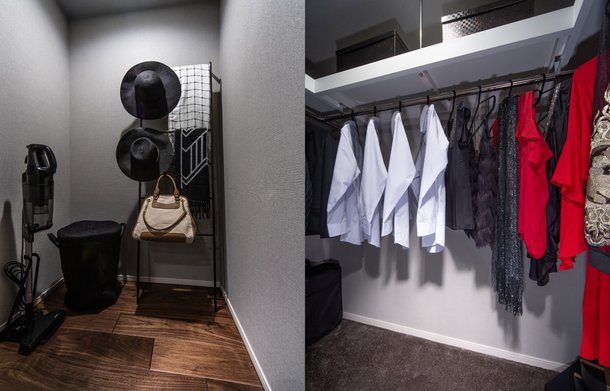 STORAGE ROOM / WALK IN CLOSET